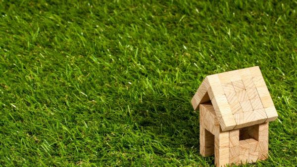 maison et pelouse